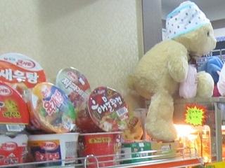 売店のお菓子<ヘビチュ・スパワールド>